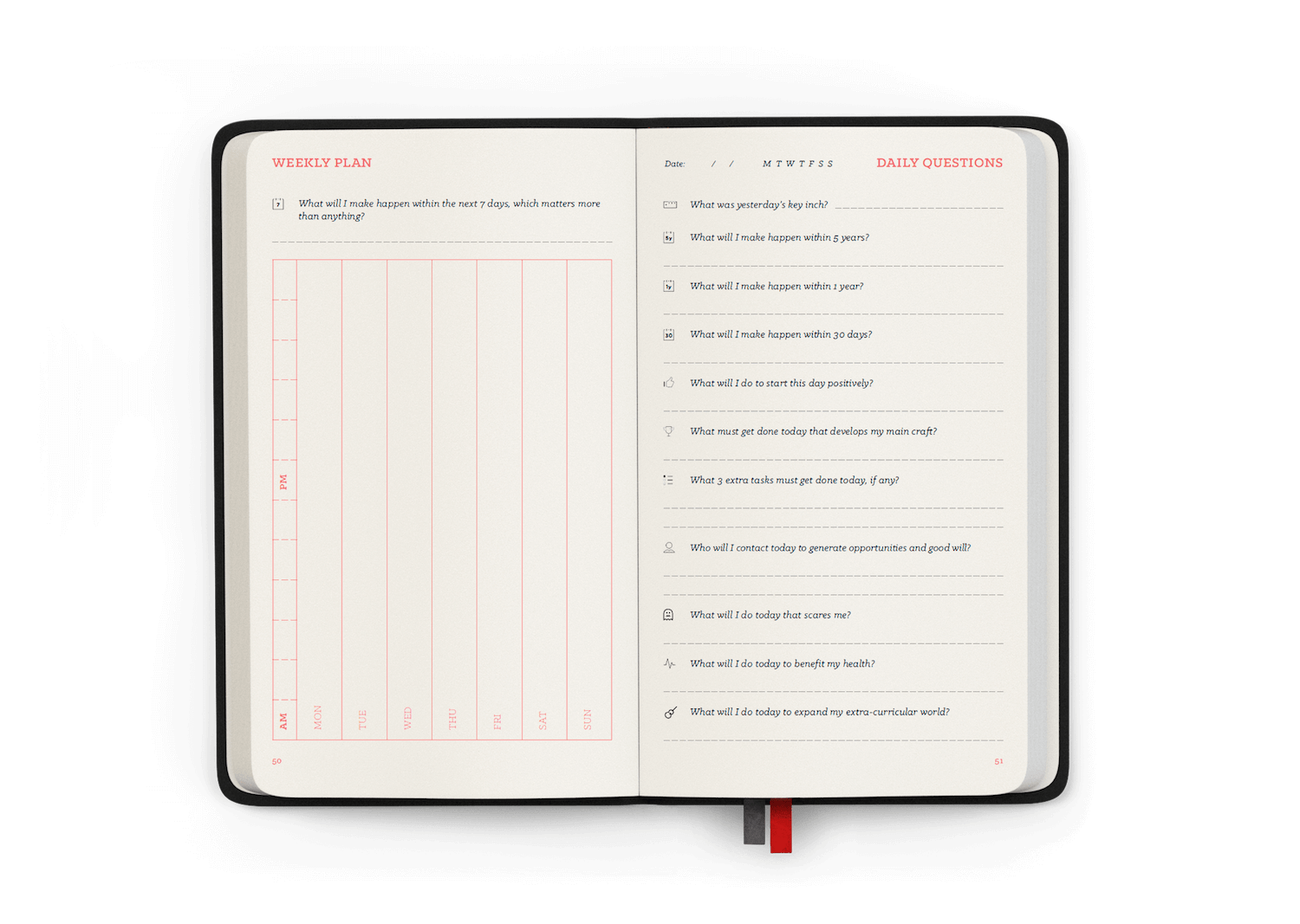 Book of Lift — The weekly plan