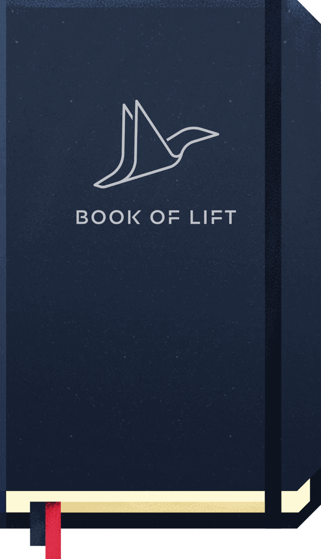 Book of Lift Closed Book Illustration